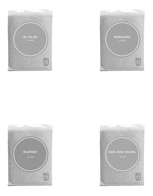 Filter pack front transparent bw distressed